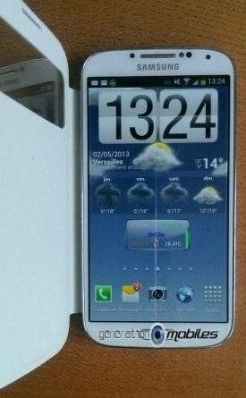 [ACCESSOIRE] S-View Cover Officielle pour le Samsung Galaxy S4 Image025