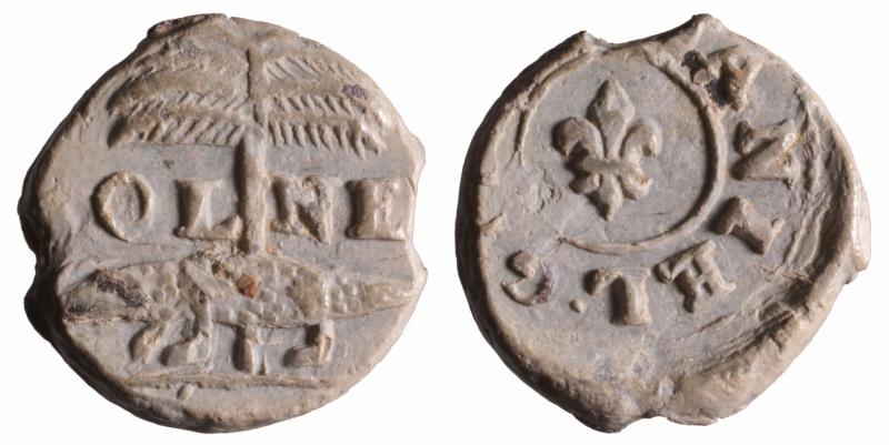 Les plombs de soyeux de Nîmes. D230711