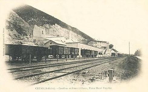 Dept:26 Drôme Ciment et chaux Eugène Freydier à Lachamp Condillac Freydi11
