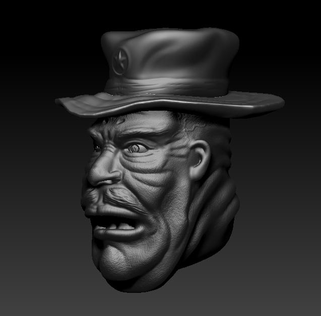 De la 3D avec Zbrush [débutant] Gros411