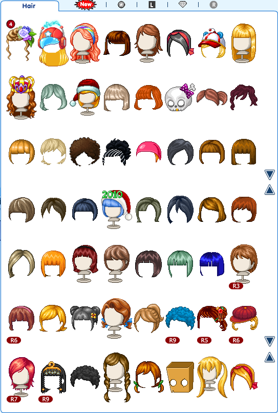 post your fantage inventory here! Myhair11