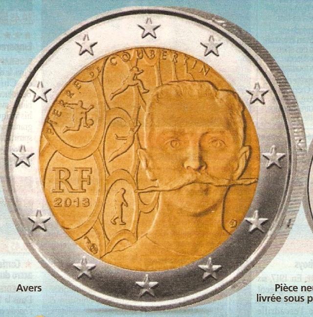 PIECE 2€ PIERRE DE COUBERTIN Numari11