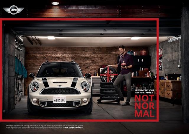 """NOT NORMAL"" – MINI brand campaign P9012517"