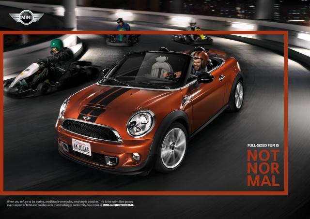 """NOT NORMAL"" – MINI brand campaign P9012518"