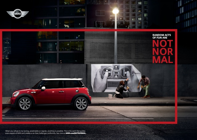 """NOT NORMAL"" – MINI brand campaign P9012519"