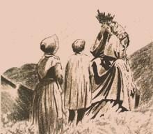 La prière de Mélanie Calvat, bergère de La Salette, pour les temps de calamités Appari10