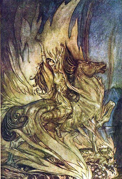 اوبرا شفق الالهه اخر Twilight of the Gods  اوبرات رباعية النيبيلونج من اعمال ريتشارد فاجنر 409px-10