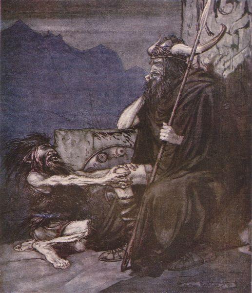 اوبرا شفق الالهه اخر Twilight of the Gods  اوبرات رباعية النيبيلونج من اعمال ريتشارد فاجنر Alberi10