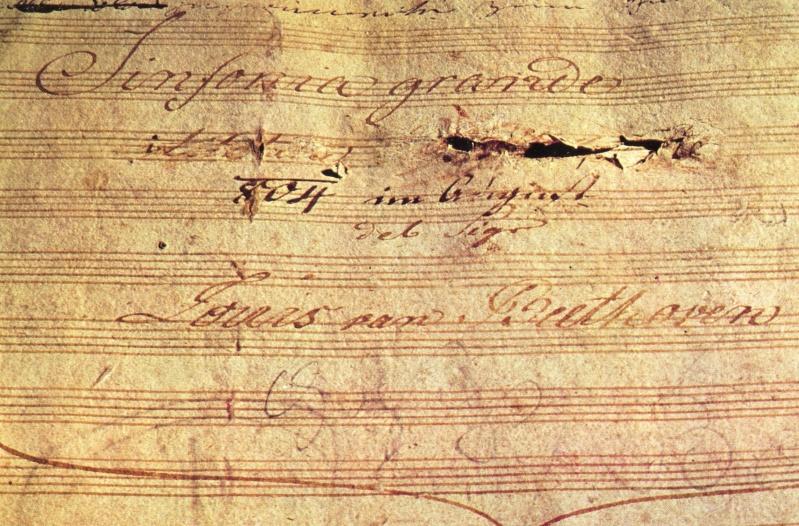 السيمفونية الثالثة (الايرويكا) او البطولة من اشهر اعمال الموسيقار بيتهوفن Symphony No.3 in Eb, Op.55 Eroica Beetho10