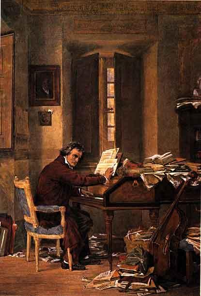 سوناته للبيانو من مقام دو صغير مصنف رقم 13 الباتيتيك (العاطفية) من لشهر اعمال بيتهوفن  Piano Sonata No.8 in C-, Op.13 -'Pathétique'  Beetho17