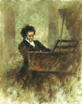 باجاتيل للبيانو رقم 25 المعروف باسم (من اجل اليز) من اشهر اعمال بيتهوفن Bagatelle in A- ('Für Elise') WoO 59  Beetho20