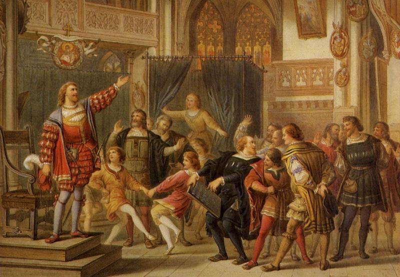 افتتاحية اوبرا اساطين الغناء فى نورمبرج Die Meistersinger von Nürnberg  من اجمل اعمال ريتشارد فاجنر Compos10
