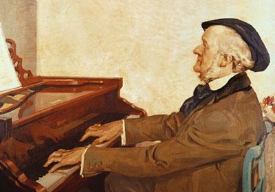 السوناته الكبيرة للبيانوPiano Sonata no. 1 The Great  مصنف رقم 4 من اعمال فاجنر Ff10