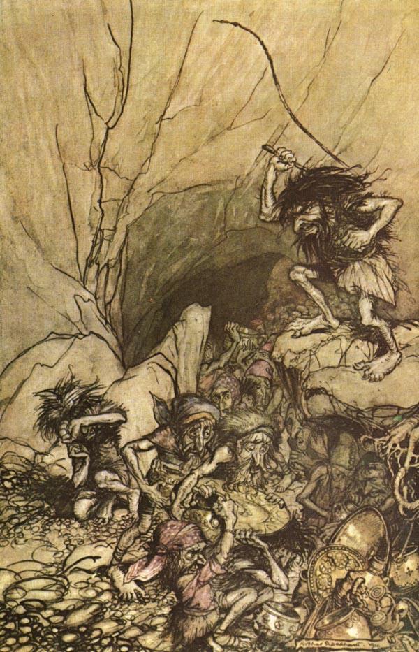 ذهب الراين Das Rheingold اول اوبرات رباعية خاتم النبيلونجن من اعمال فاجنر Ring1110