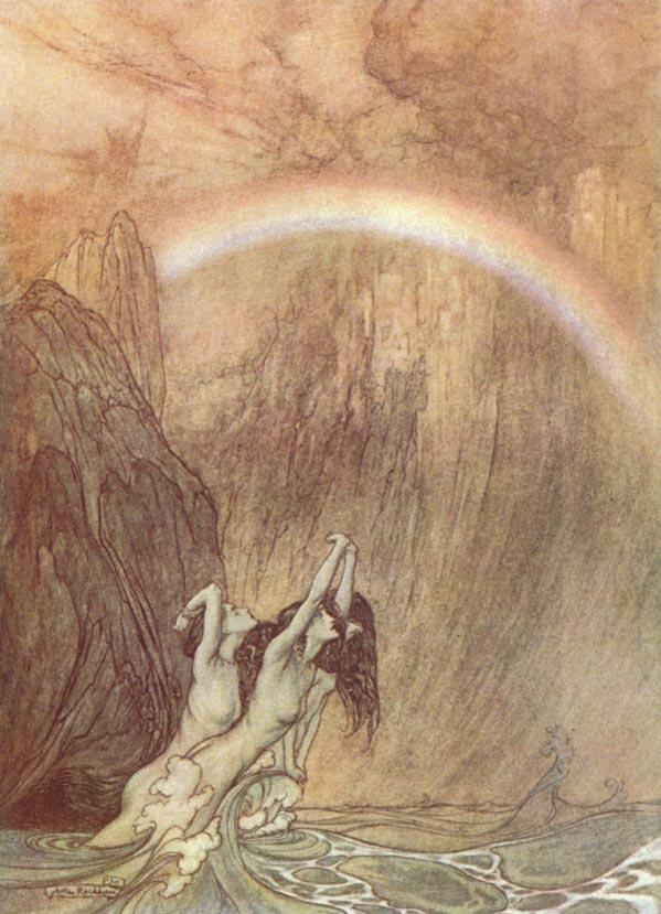 ذهب الراين Das Rheingold اول اوبرات رباعية خاتم النبيلونجن من اعمال فاجنر Ring1710