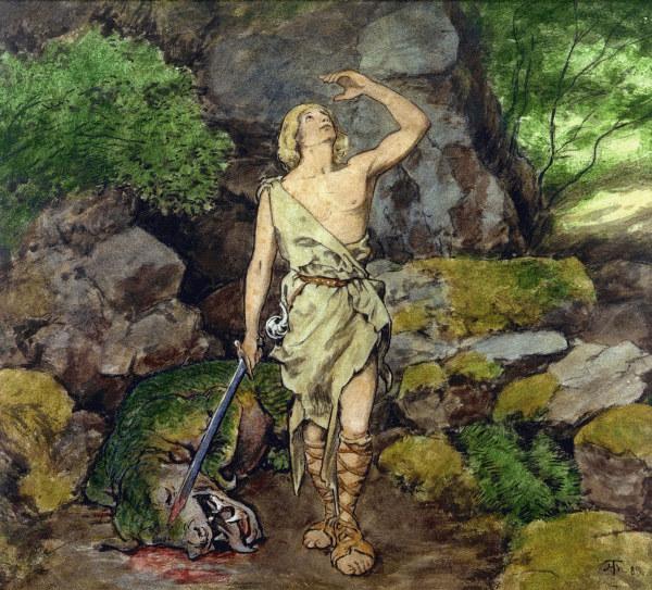 اوبرا سيجفريد Siegfried  opera ثالث اوبرات مجموعة النبيلونج من اعمال فاجنر Siegfr11