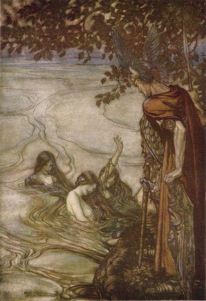 اوبرا شفق الالهه اخر Twilight of the Gods  اوبرات رباعية النيبيلونج من اعمال ريتشارد فاجنر Siegfr12