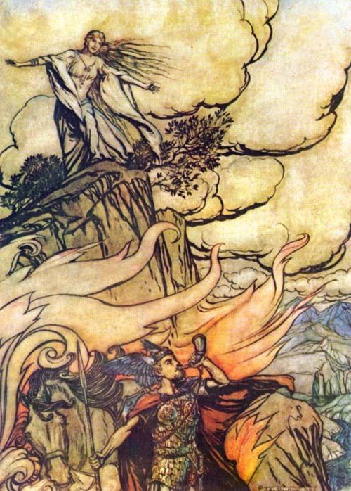 اوبرا سيجفريد Siegfried  opera ثالث اوبرات مجموعة النبيلونج من اعمال فاجنر Tumblr12