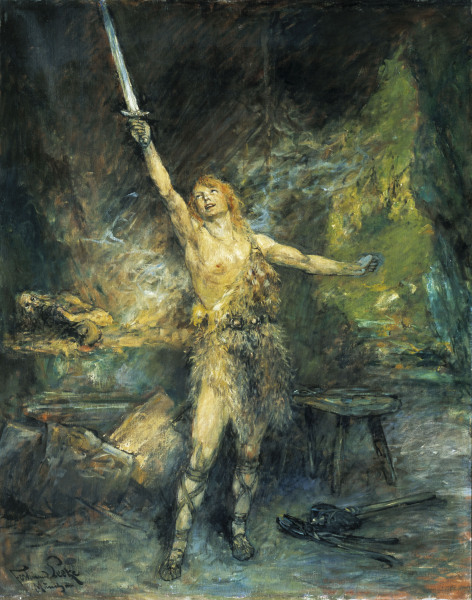 اوبرا سيجفريد Siegfried  opera ثالث اوبرات مجموعة النبيلونج من اعمال فاجنر Wagner11