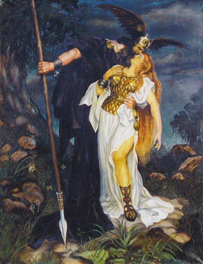 اوبرا شفق الالهه اخر Twilight of the Gods  اوبرات رباعية النيبيلونج من اعمال ريتشارد فاجنر Wagpai12