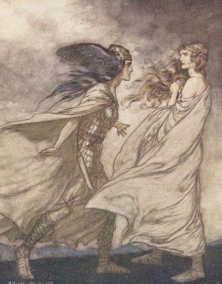 اوبرا شفق الالهه اخر Twilight of the Gods  اوبرات رباعية النيبيلونج من اعمال ريتشارد فاجنر Waltra10