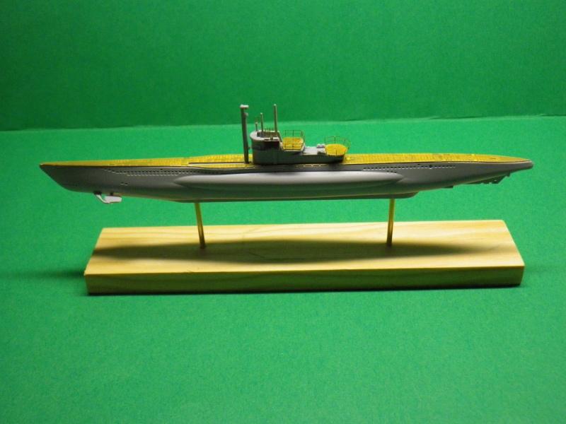 Sous marin allemand typeVII c turm-IV 1/400 Mirage (1) Imgp1414
