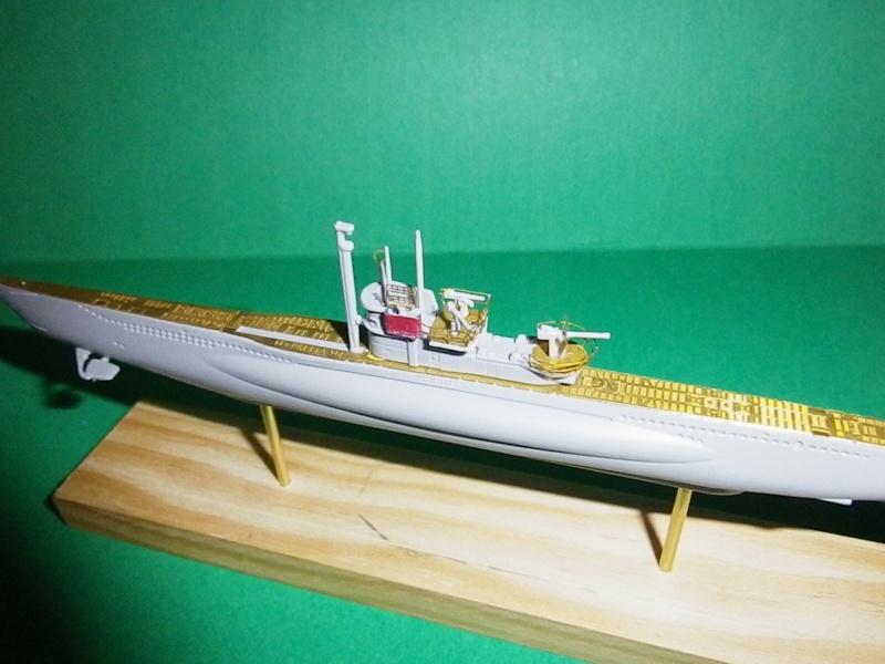Sous marin allemand typeVII c turm-IV 1/400 Mirage (1) Imgp1415
