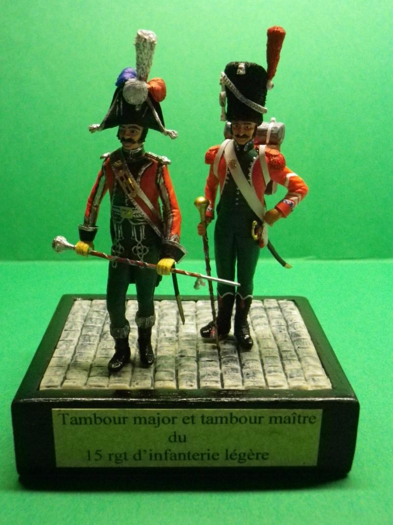 Tambour-major du 15ème léger en 1805 (1) au 1/32 Historex Imgp1910
