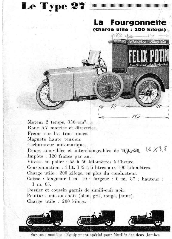 Cyclecar utilitaire Livret10