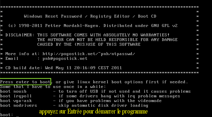 Ultimate Boot CD v5 : Tester son matériel, modifier une partition, supprimer un mot de passe de session, récupération de données... Image_13