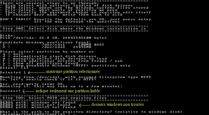 Ultimate Boot CD v5 : Tester son matériel, modifier une partition, supprimer un mot de passe de session, récupération de données... Image_15