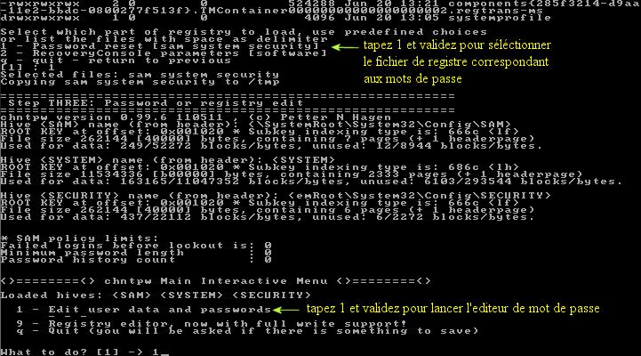 Ultimate Boot CD v5 : Tester son matériel, modifier une partition, supprimer un mot de passe de session, récupération de données... Image_18