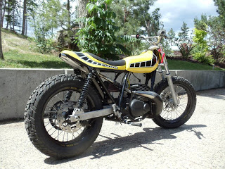 Yam DT400 dirt Goldam10