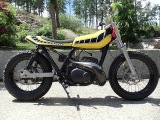 Yam DT400 dirt Goldam11