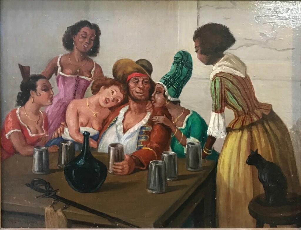 GUSTAVE ALAUX, peintre de marine Al110