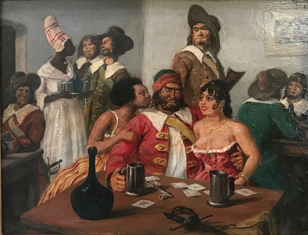 GUSTAVE ALAUX, peintre de marine Al210