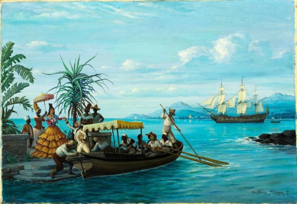 GUSTAVE ALAUX, peintre de marine Alauxp12