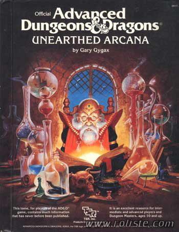 Petite histoire de Donjons & Dragons Arca1810