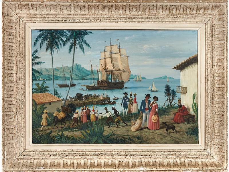 GUSTAVE ALAUX, peintre de marine Cote10