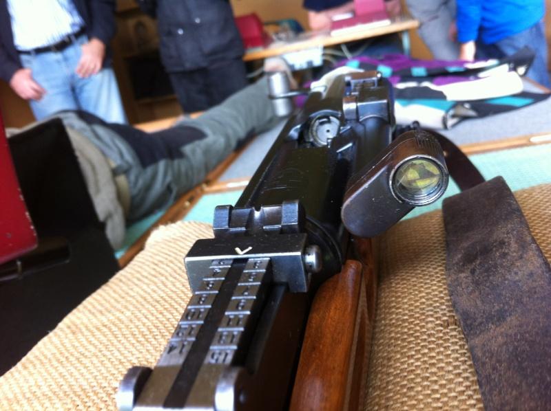 Lunettes de tir d'ordonnance suisse 00810