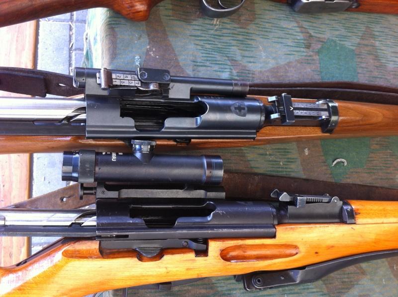 Lunettes de tir d'ordonnance suisse 01310