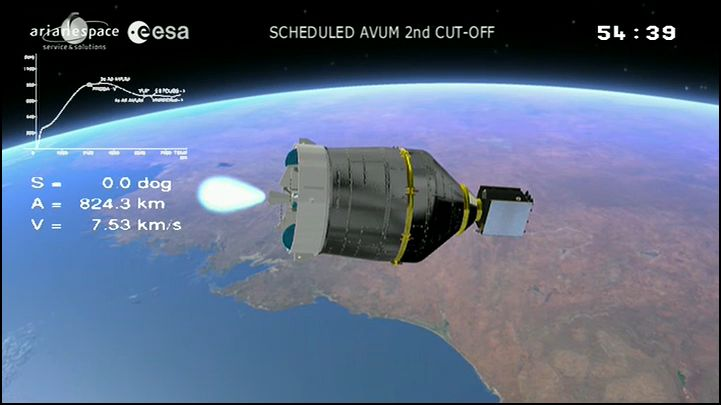 Vega VV02 (VNREDSat + Proba-V) - 7.5.2013 - Page 5 Captur14
