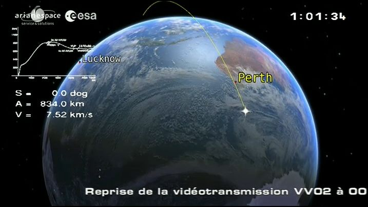 Vega VV02 (VNREDSat + Proba-V) - 7.5.2013 - Page 5 Captur16