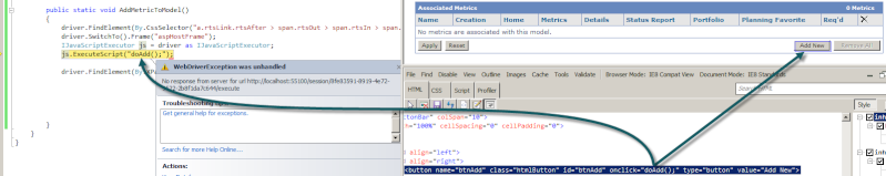 WebDriverException Was Unhandled 5-7-2012