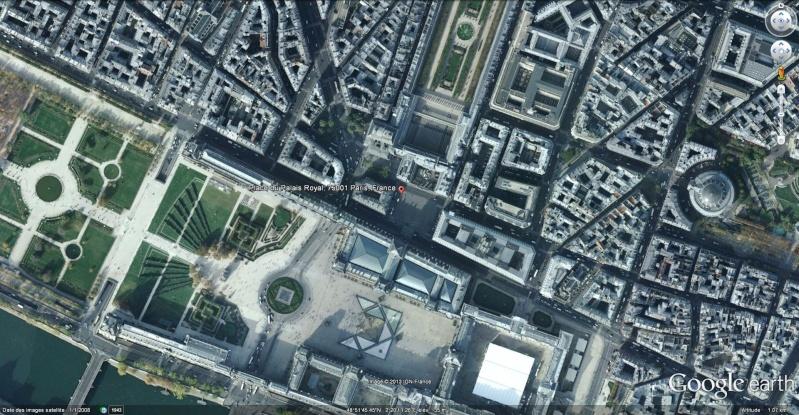 Place du Palais-Royal à Paris : Le lin, un textile très ancien qui a de l'avenir !!  Place_10