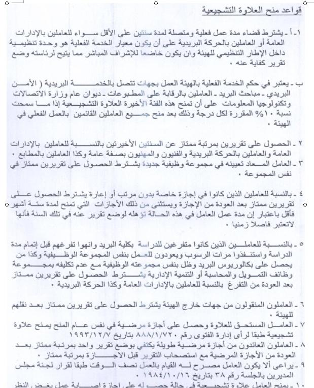 حصري لعشاق البريد المصري العلاوة التشجيعية قرار 1591 بتاريخ اليوم 20/6/2013  Uuooo_10