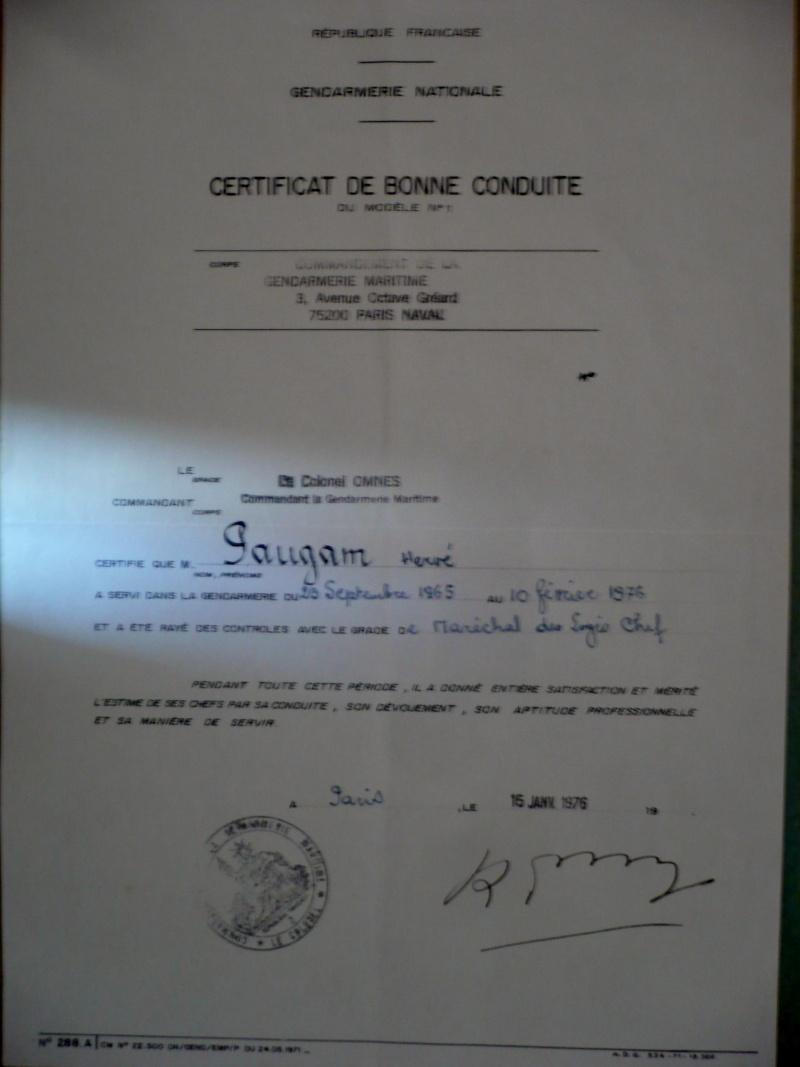 [ Divers Gendarmerie Maritime ] Port de la barbe en gendarmerie maritime Omnes_11