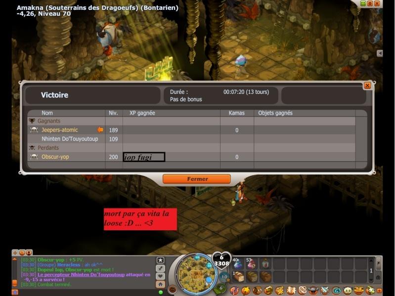 victoire d'un tueur de pgm Dofus111