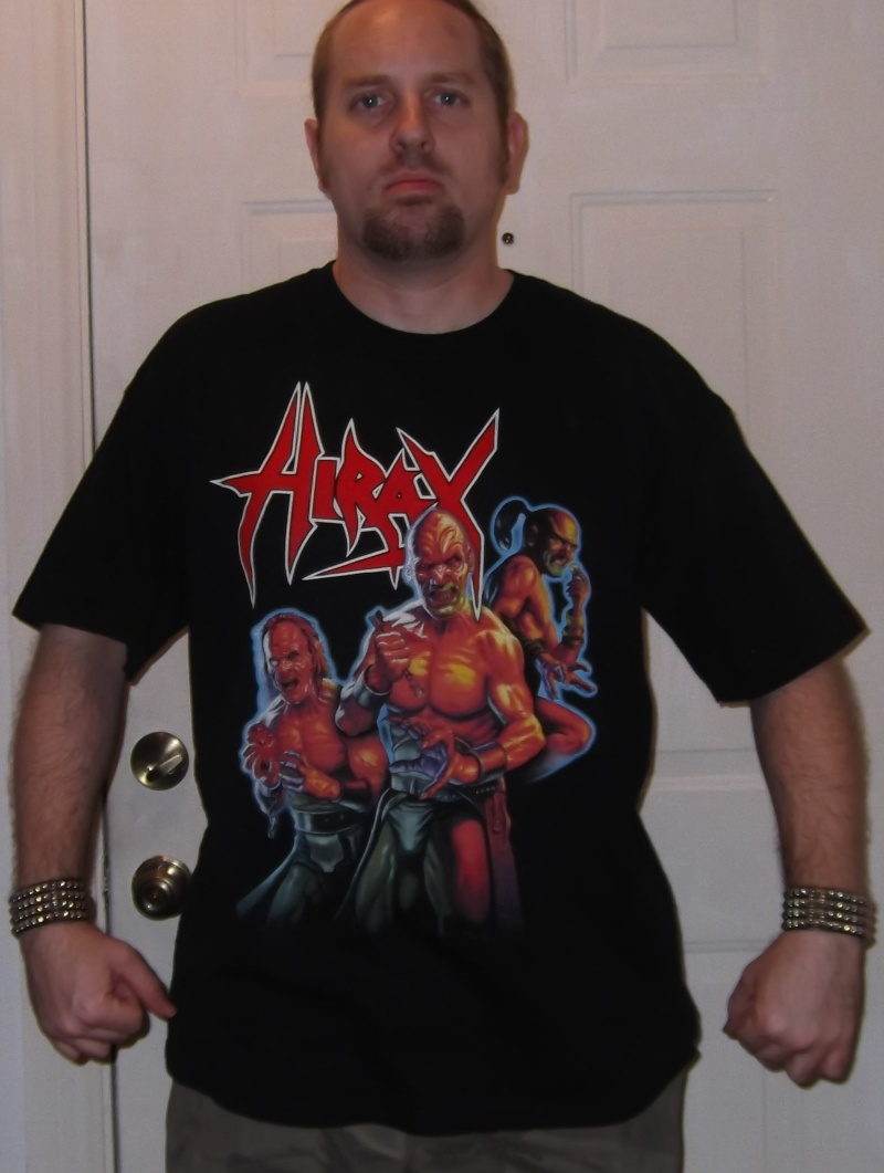 What T-shirt are you wearing today (and Why?) - Page 5 Hirax10
