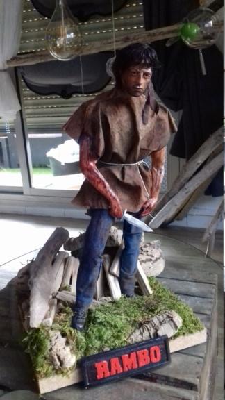statue rambo 1/3 super sculpey 20181221